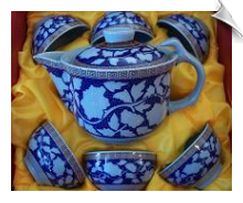 Chrysanthemum Tea Set