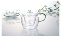 Glass Teapot with choice